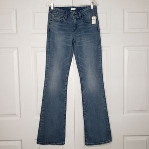 GAP 1969 Long And Lean Flare Jeans NWT 26 L